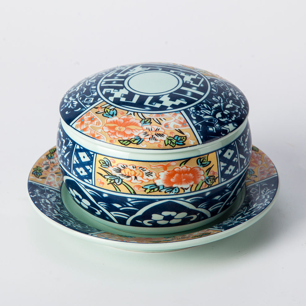 Japanese Ceramic Tableware Hand-painted 10inch Large Serving Bowls For Food