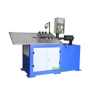 Used 2D 3D cnc automatic wire strip bending forming machine
