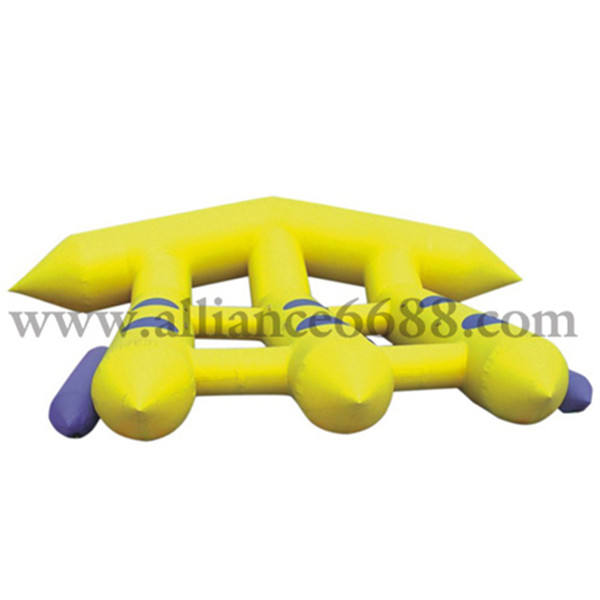 Adult Water Sports Games Inflatable Towable Tube 6 Person Crazy UFO
