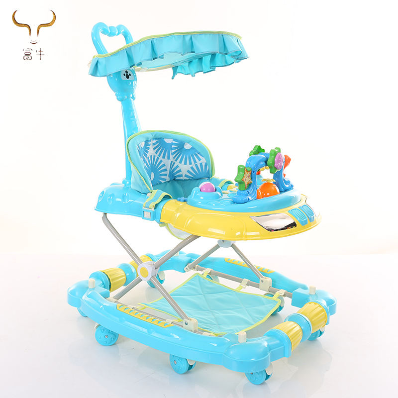 2019 Best selling baby walker car/ inflatable baby walker with music/ most popular 3 in 1 baby walker in europe walker baby cars
