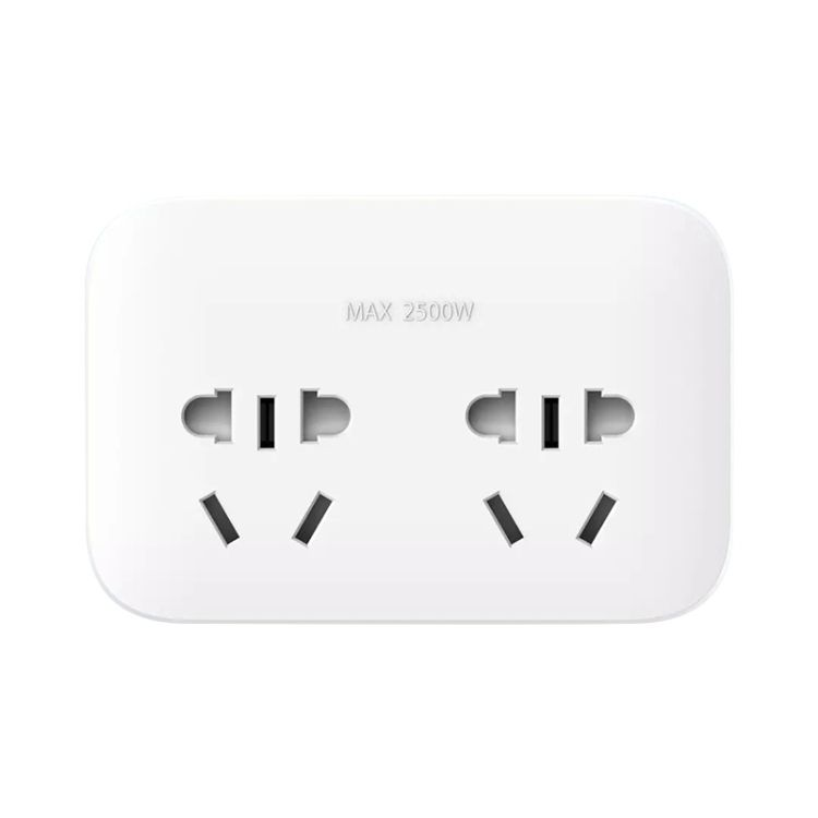 Smart Home Switch Original Xiaomi Power Socket Strip 2 Sockets Plug Extension Socket with 2 Control Switches