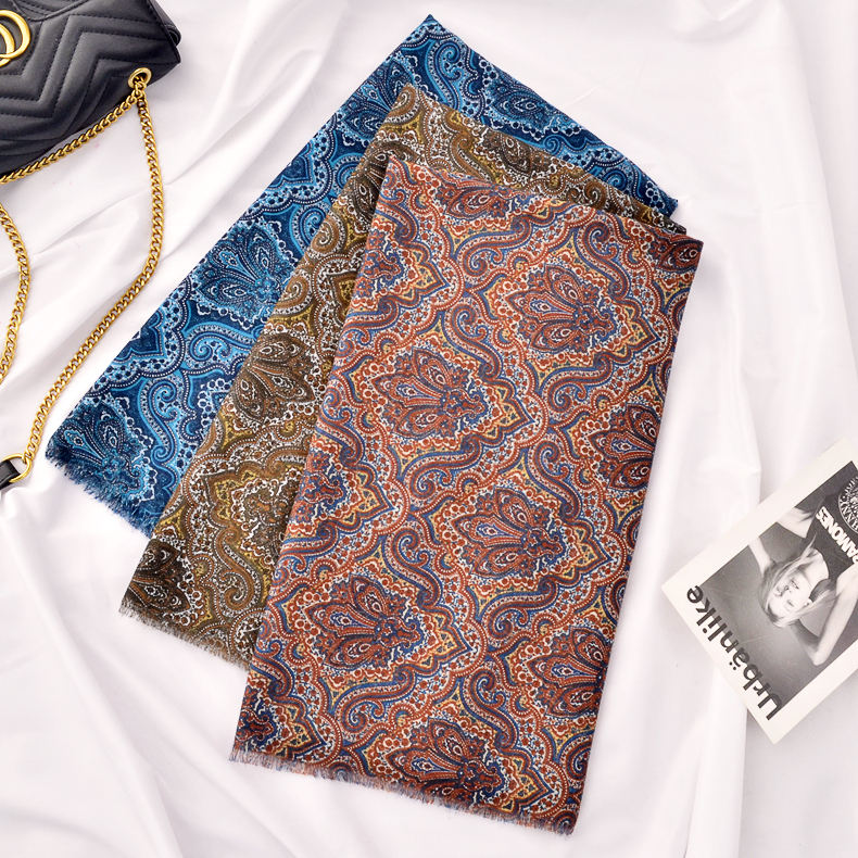 Factory 2020 Latest Custom Design Long Scarves Hijabs Turkish Bawal Cotton Printed Hijabs Women Veil Customised Scarf