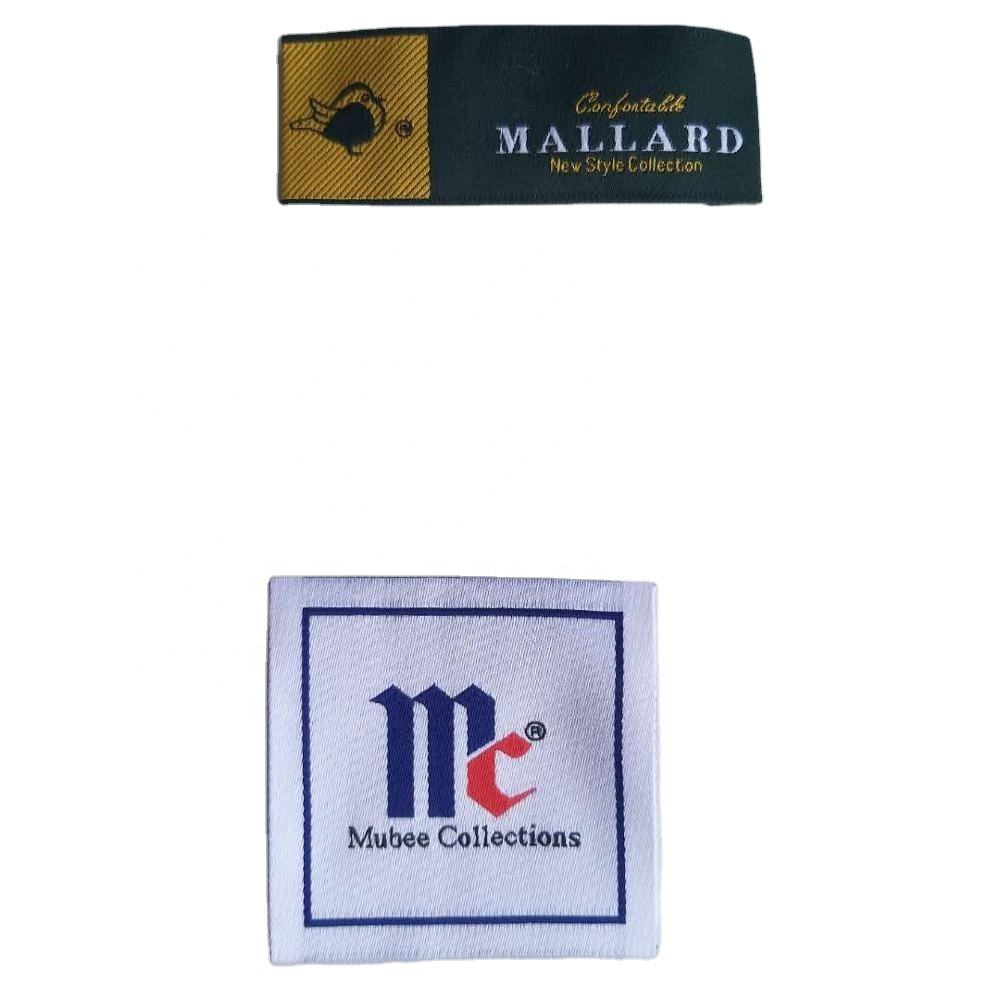 Best Price Cloth Woven Labels For Handmade Items Loop Fold Label