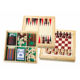 Mdf Wooden Toy Memory Match Chess Board Fsc Game Set Luxury Magnetic Wood Chess Table Box Pieces For Party Use