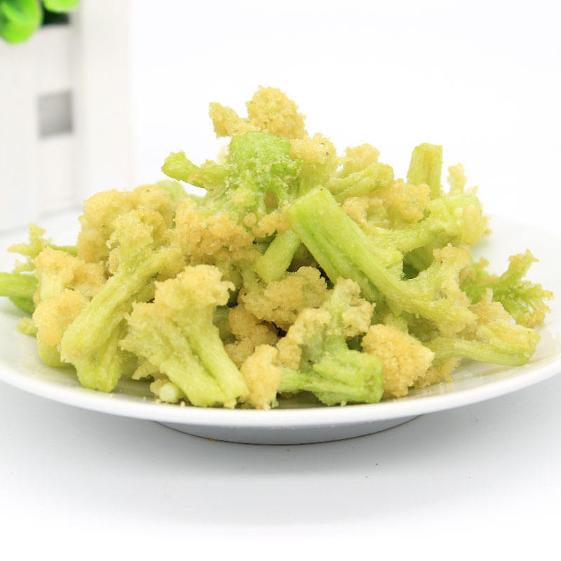 TTN Hot Sale Vacuum Fried Cauliflower Dried Cauliflower