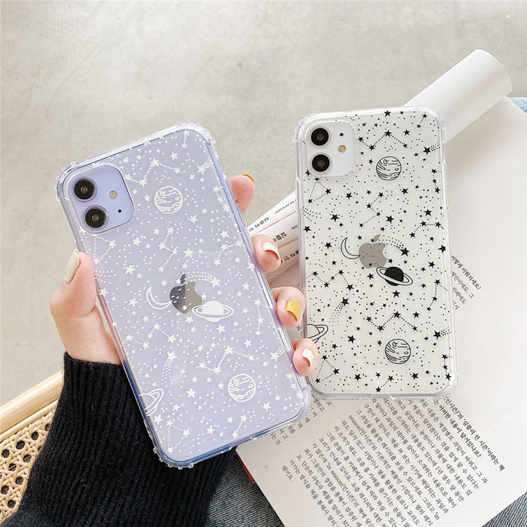 wholesale phone cases assorted for iphone x xr xs max space star glitter,for iphone acrylic case space