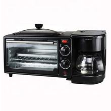 Home multi-function toaster machine breakfast black automatic small machine spit driver electric oven