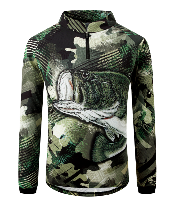 Outdoor Sportswear Breathable Long Sleeve Outdoor Fishing Shirt