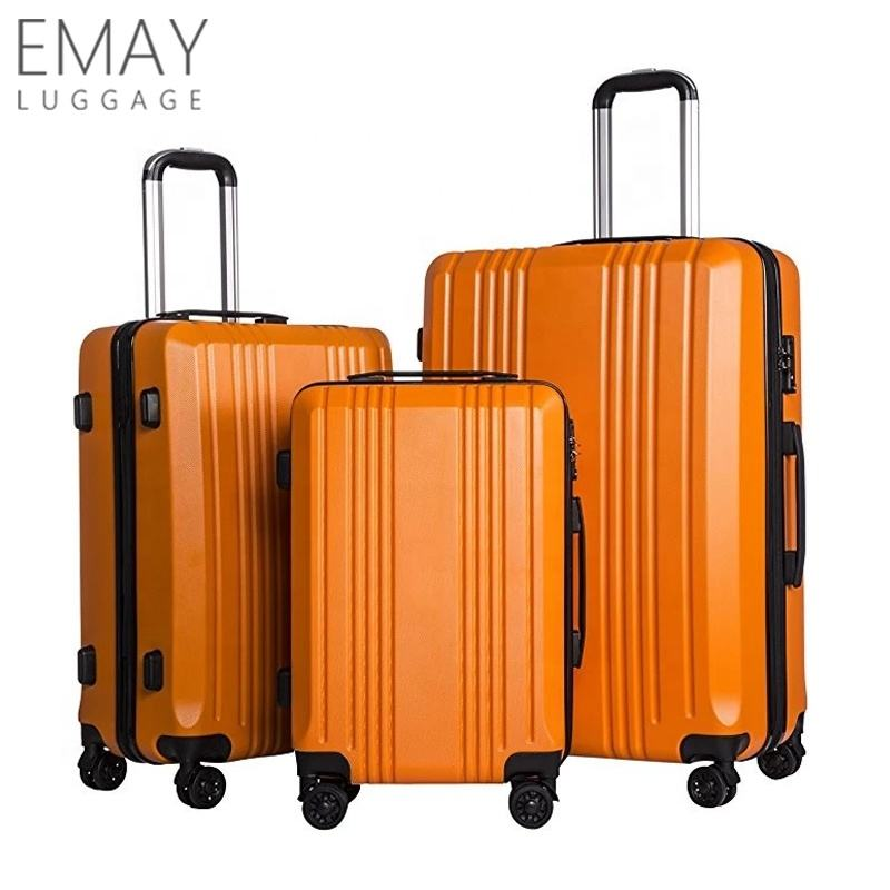Light Weight Unbreakable ABS Trolley Suitcases Maletas de viaje Traveling Bag Hand Luggage Sets