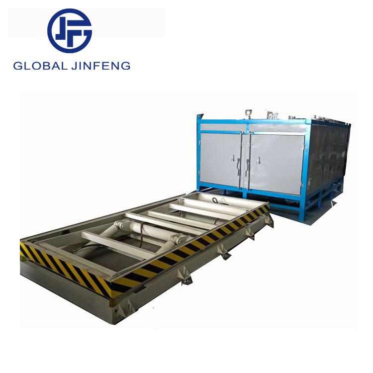 Küresel Jinfeng vakum flatbed laminasyon makinesi cam