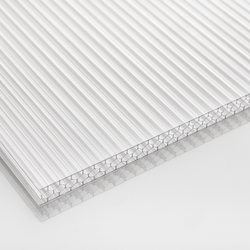 Multiwall 6-11mm Polycarbonate Honeycomb Sheet For Greenhouse
