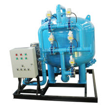 100m3/hour Water treatment sand filter system to remove water-borne suspended solids