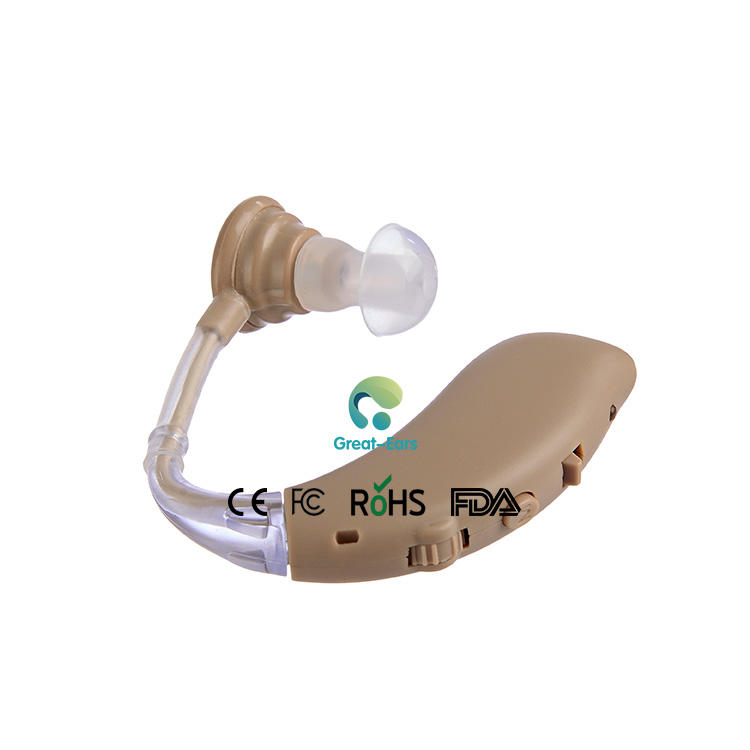 G25 Cheap Price High quality CE&FDA Adjustable Ear Sound Amplifier Semi-Digital Hearing Aids Rechargeable