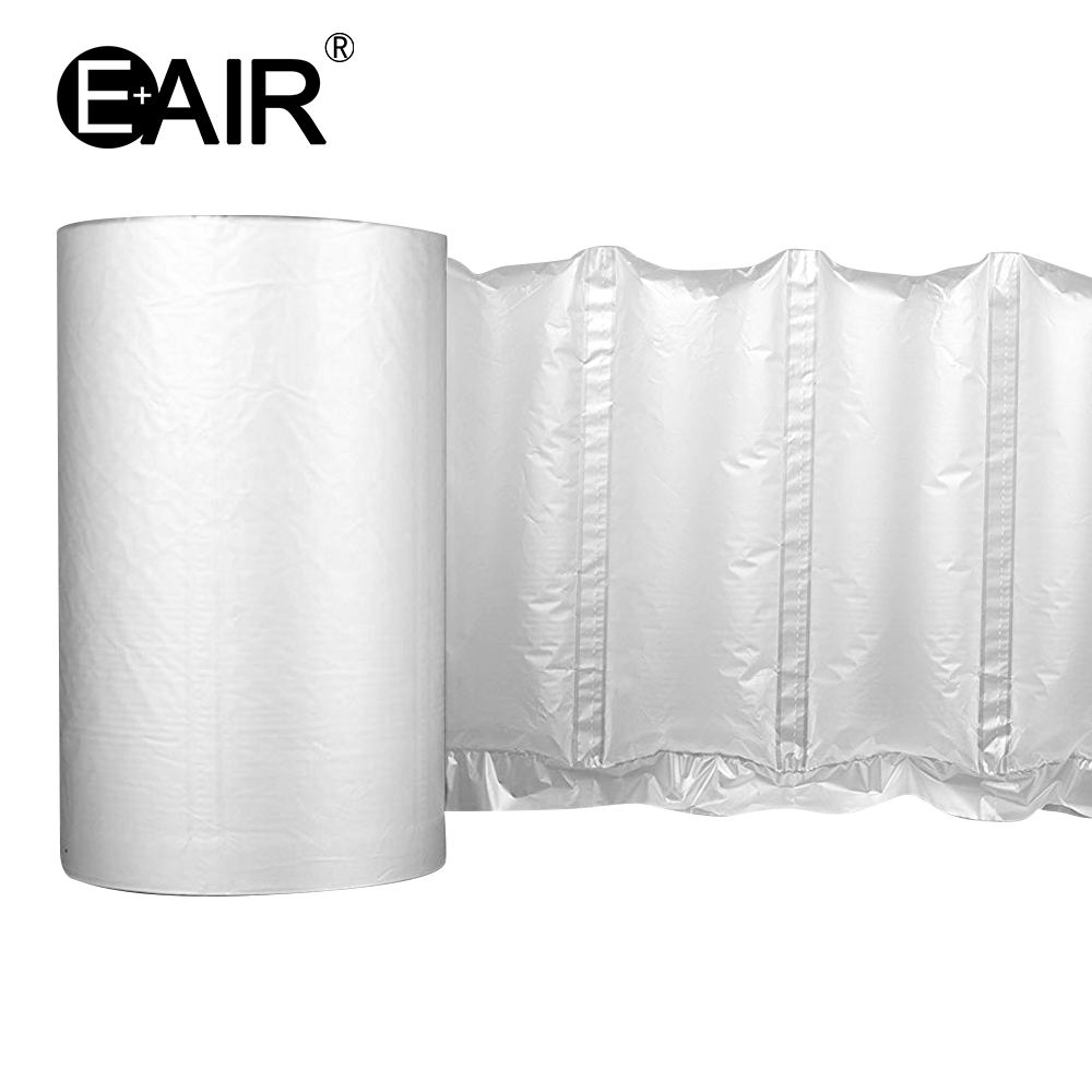 air bag protective packaging packing material column bag custom printed bubble pillow wrap pack work with air cushion machine