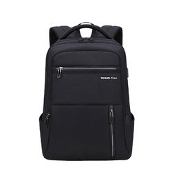 Factory Custom laptop backpack with USB with Logo bag school back pack