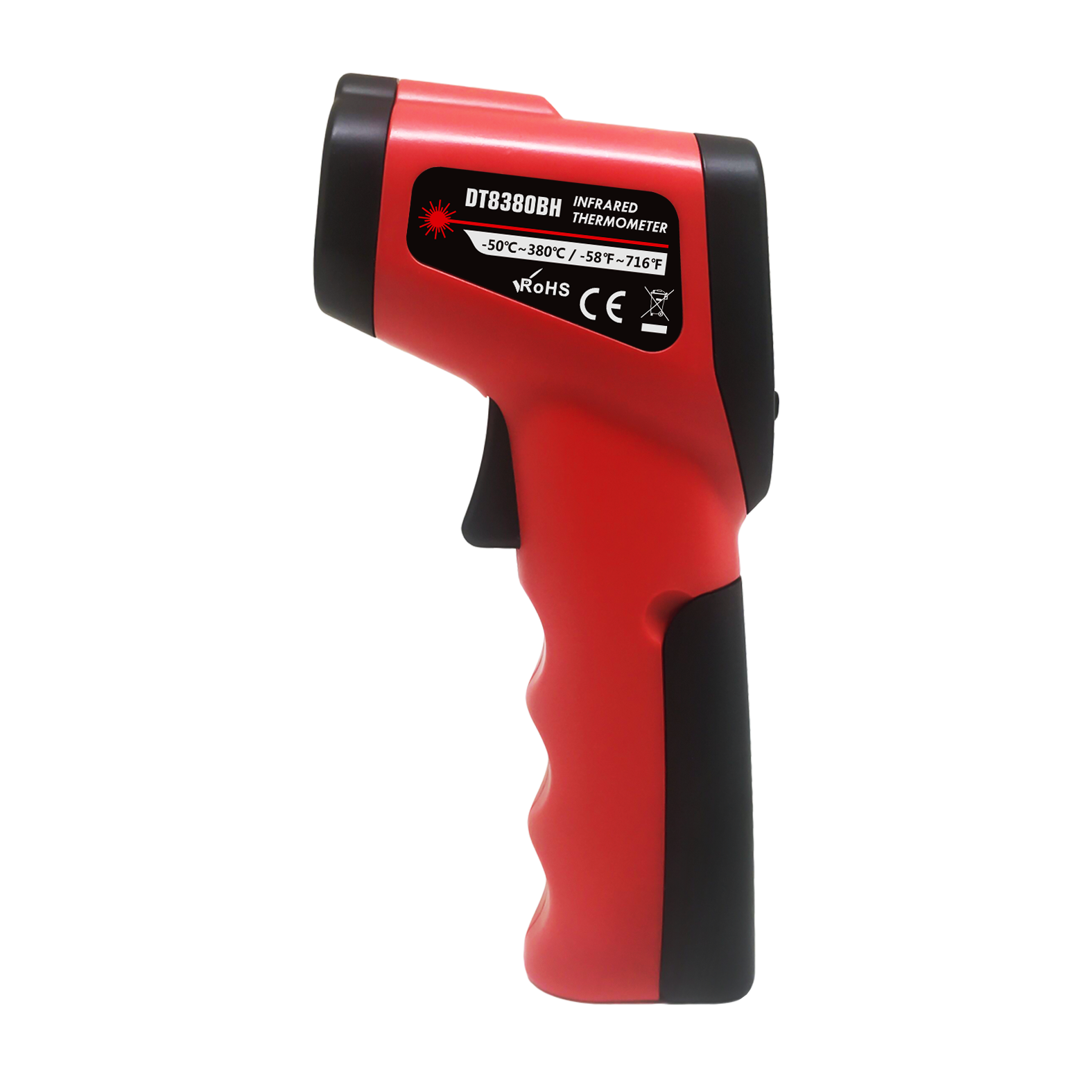 Termometro Infravermelho China Manufacturer Digital Non-Contact Temperature Instruments Laser Gun Thermometers for industry