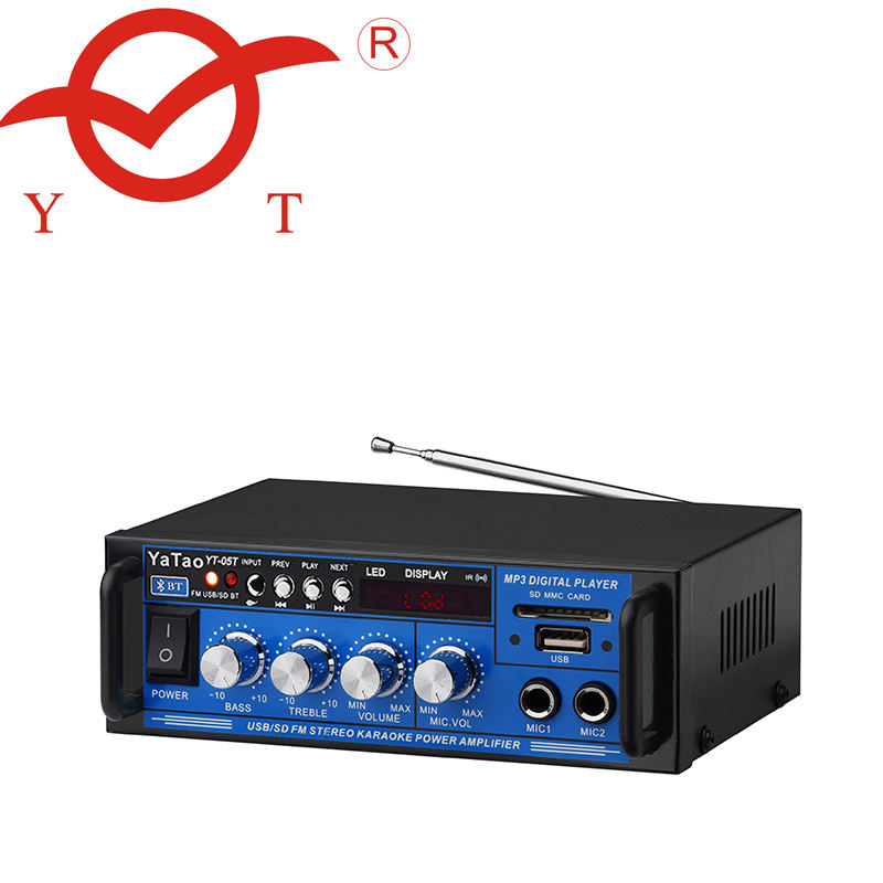 YT-05T hifi mini bluetooth amplifier for mp3 player