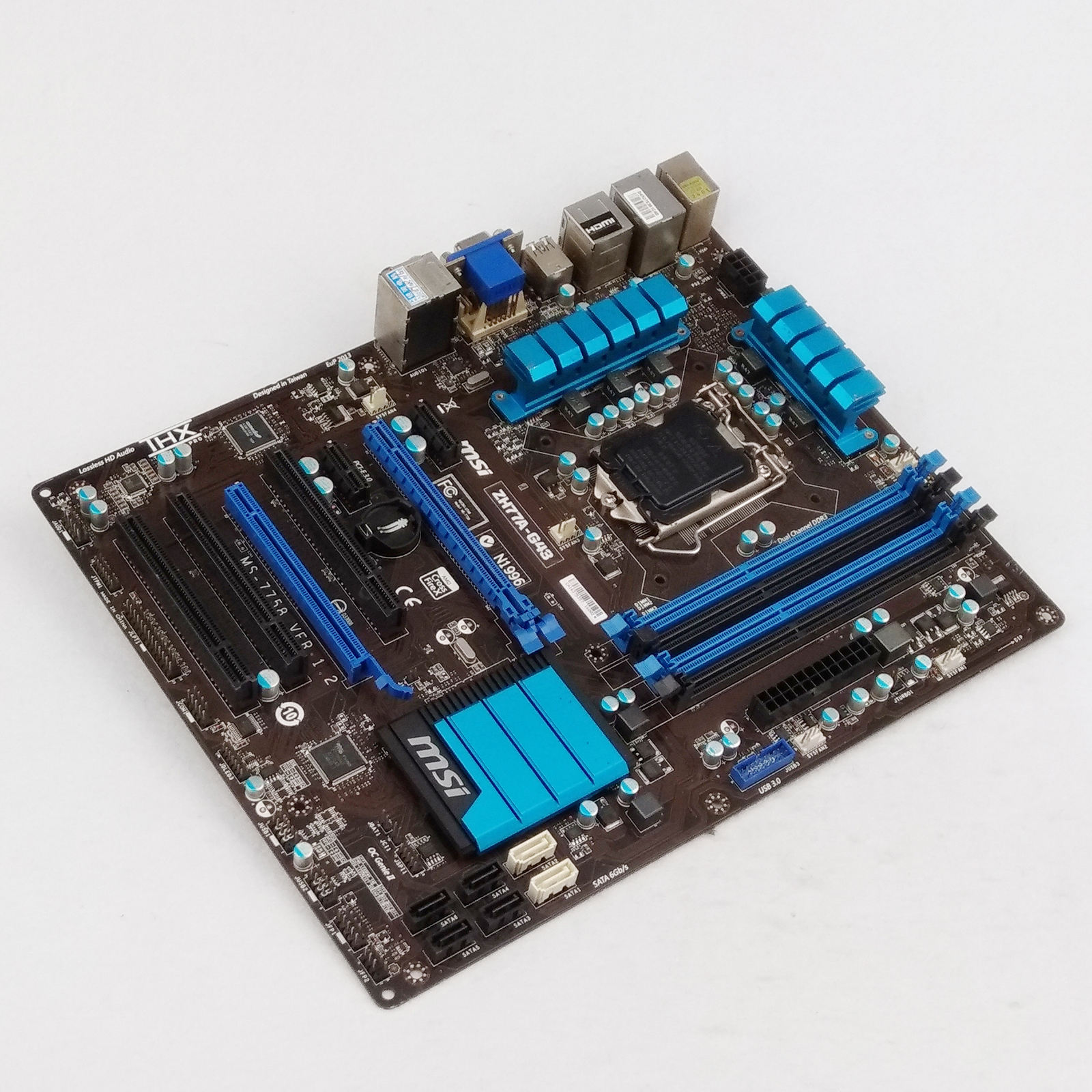 Used MSI ZH77A-G43 Motherboard DDR3 LGA 1155 for I3 I5 I7 CPU 32GB USB3.0 ZH77AG43 B-60042