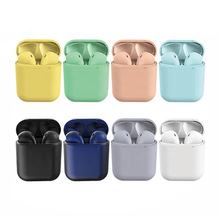 New Arrivals 2019 TWS Twins inpods 12 Wireless Earbuds True Noise Cancelling Earphones Sports Headphone