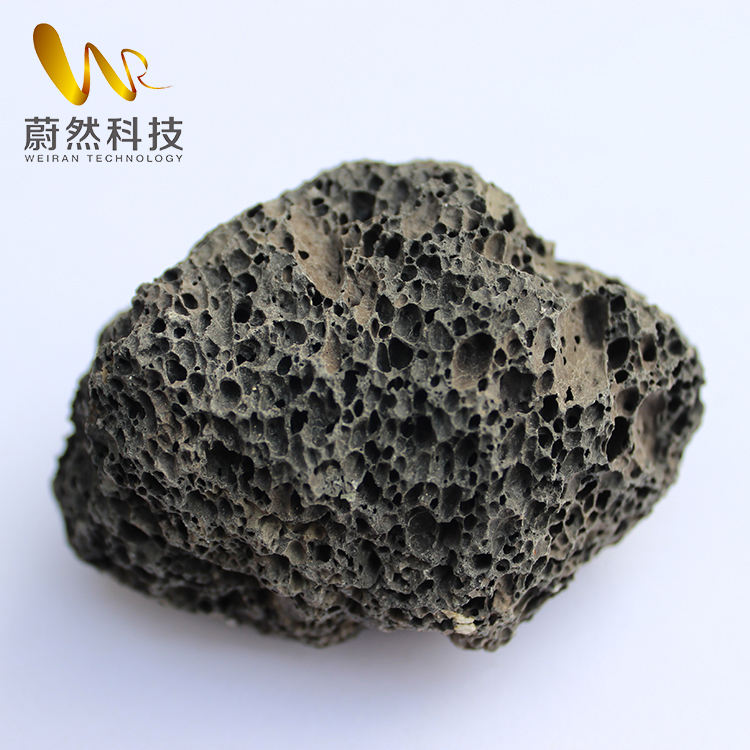 Wholesale high quality black lava rock for cooking
