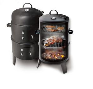 3 in 1 vertical smoker charcoal bbq grilled meat tailgating Charcoal Smoker presto BBQ Grill