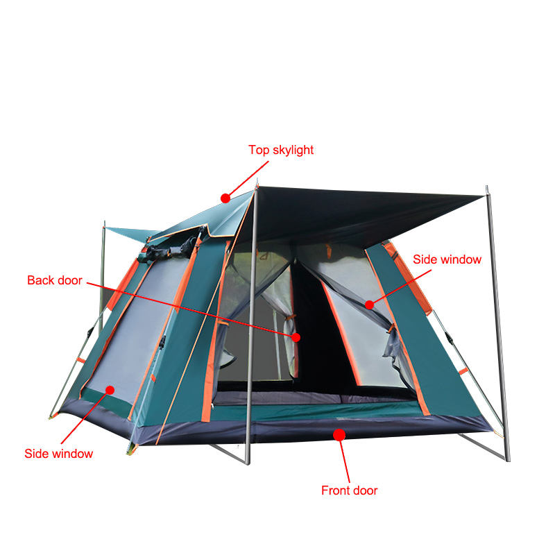 Waterproof portable 4-10 persons outdoor camping tent Sets Up in 60 Seconds for sale