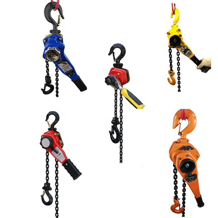 0.5ton to 15ton lever chain hoist pull lift