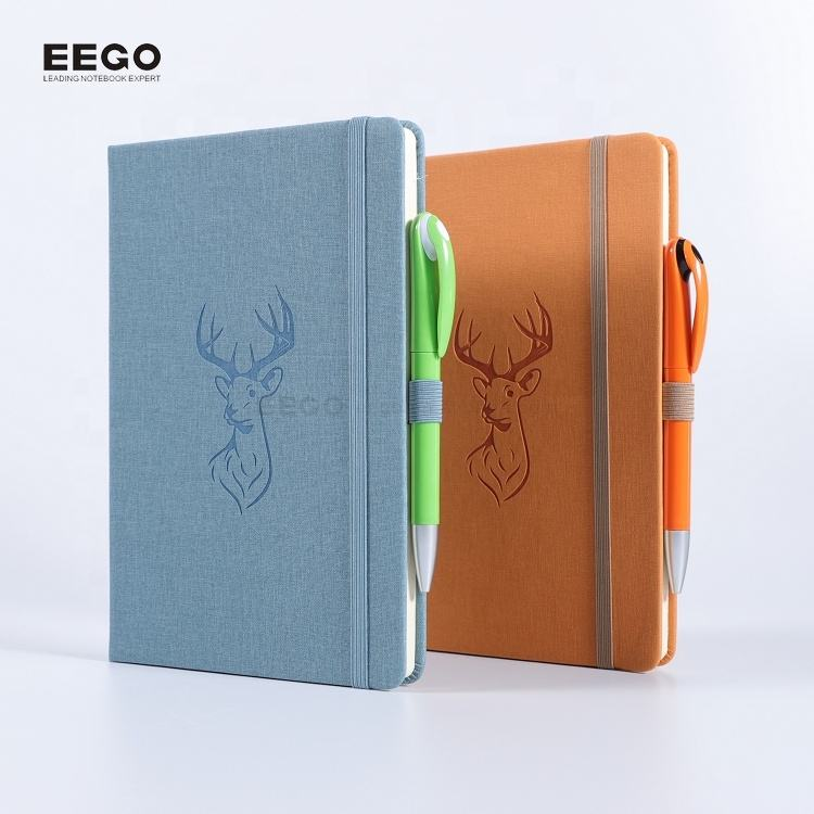 custom 2019 private label hard back fancy notebooks journal and planners hardcover embossed foil office