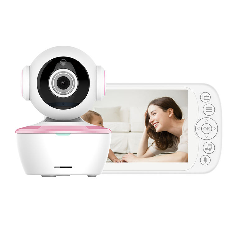 "HDKing New Style 5"" HD Screen WiFi Security Camera, Smart Home Surveillance baby monitor camera pan-tilt zoom"