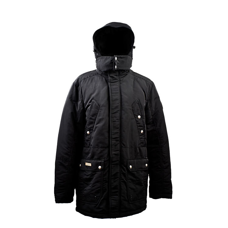 New Design Casual Hooded Quilted jackette Wholesale Winter Warm Padding Down Jackets Outerwear For Men