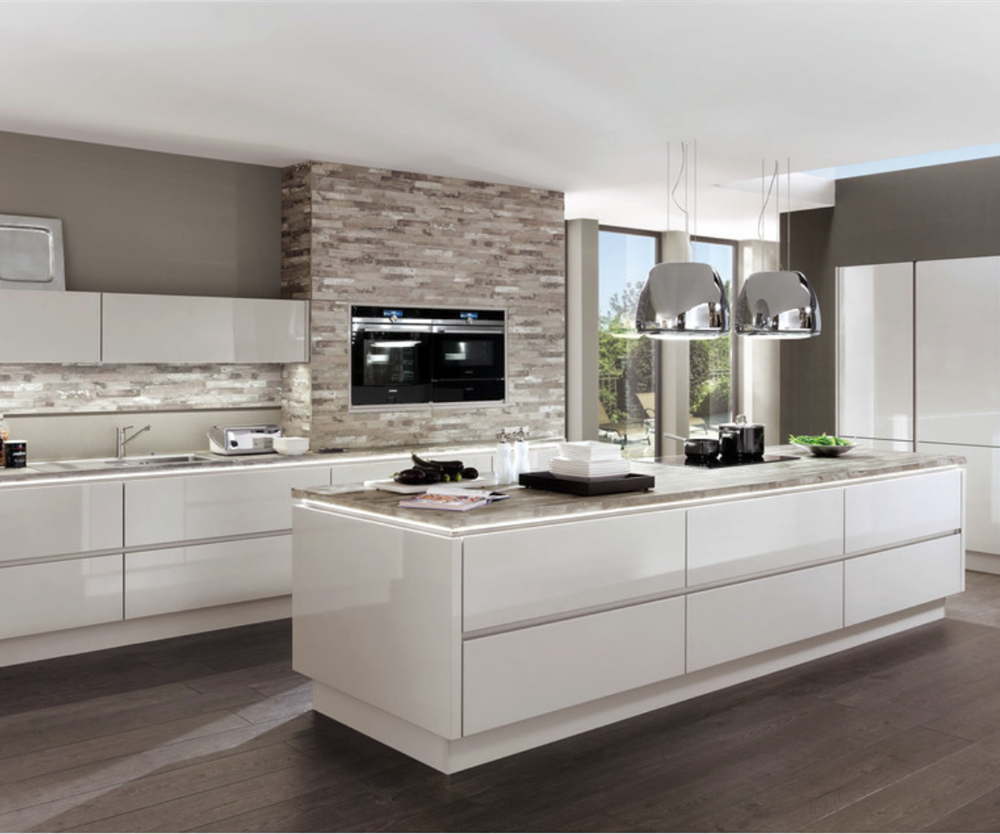 High Gloss Modern Kitchen Furniture Modular Lacquer Kitchen Cabinet