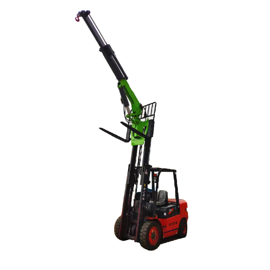3 Tons Telescopic Boom Forklift Crane Booms for Sale