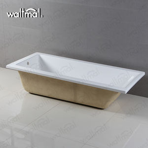 Waltmal Ce/Cupc China Wit Drop In Diepe Soaker Bad Warm Bad Voor Dubai WTM-02819