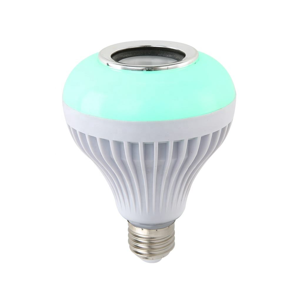 New Product Remote Control Color changing Led Bluetooth Bulb Speaker 10W E27 Music Playing RGB Bluetooth Smart Led Light Bulb