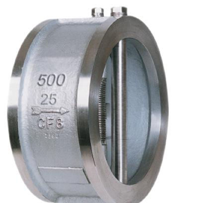 DN200 ANSI stainless steel spring check valve for water