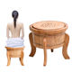 2020 OEM NO Foldable China Yoni herbs Cheap Price V Steam seat for ladies big size STEAMING WOODEN SEATS without machine