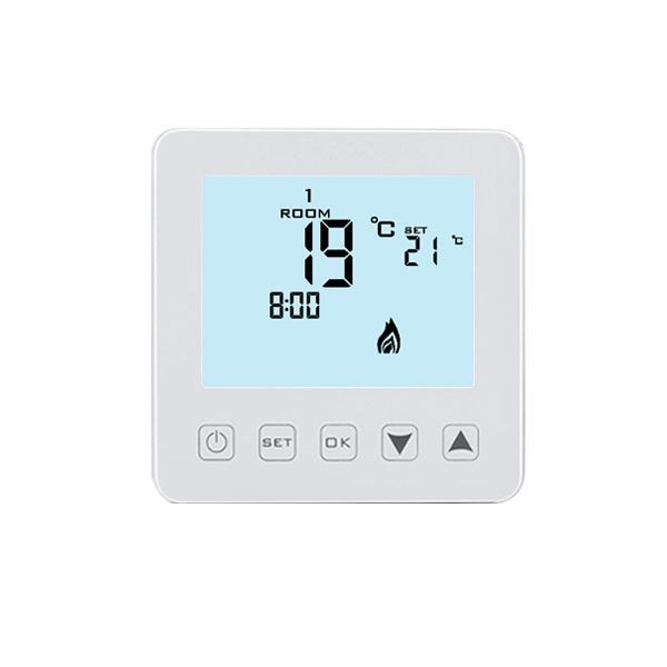 Digitale Vloerverwarming Temperatuurregelaar 230 V Boiler Thermostaat 5A Touch Controller