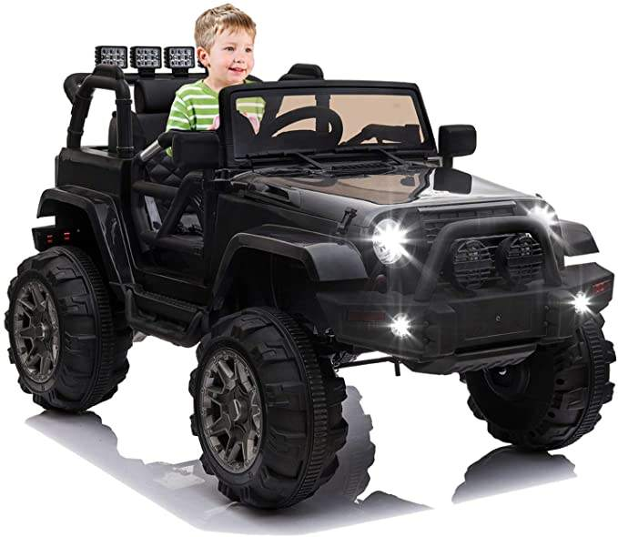 Kids Ride on Truck, Children Electric Ride on Car toy Remote Control toys, 12V Battery Powered Driving Trucks Cars toys