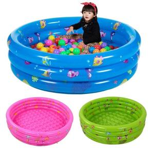 3 - rings Outdoor Kids plastic Inflatable paddling Swimming Pool for home Newborn bathing in home