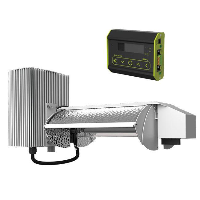 ETL Được Liệt Kê FlexStar 3-Chế Độ Có Thể Điều Chỉnh Cánh Hydroponics 1000 watt Phát Triển Ánh Sáng