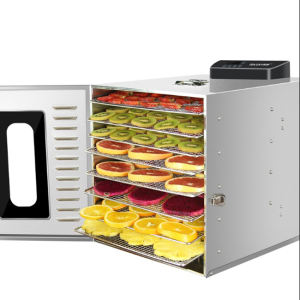 JYD Factory Price 6 Trays 304 Stainless SteelHousehold Food Dehydrator Fruit Machine Dehydrator Food Dryer