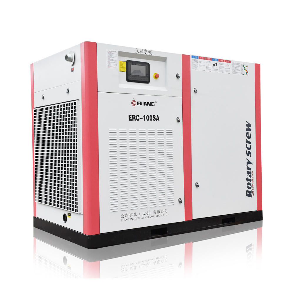 100HP 75KW Soundless Direct Driven Screw Air Compressor for Metal & Metallurgy Machinery