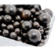 12mm/16mm Natural Black Sandalwood Round Beads