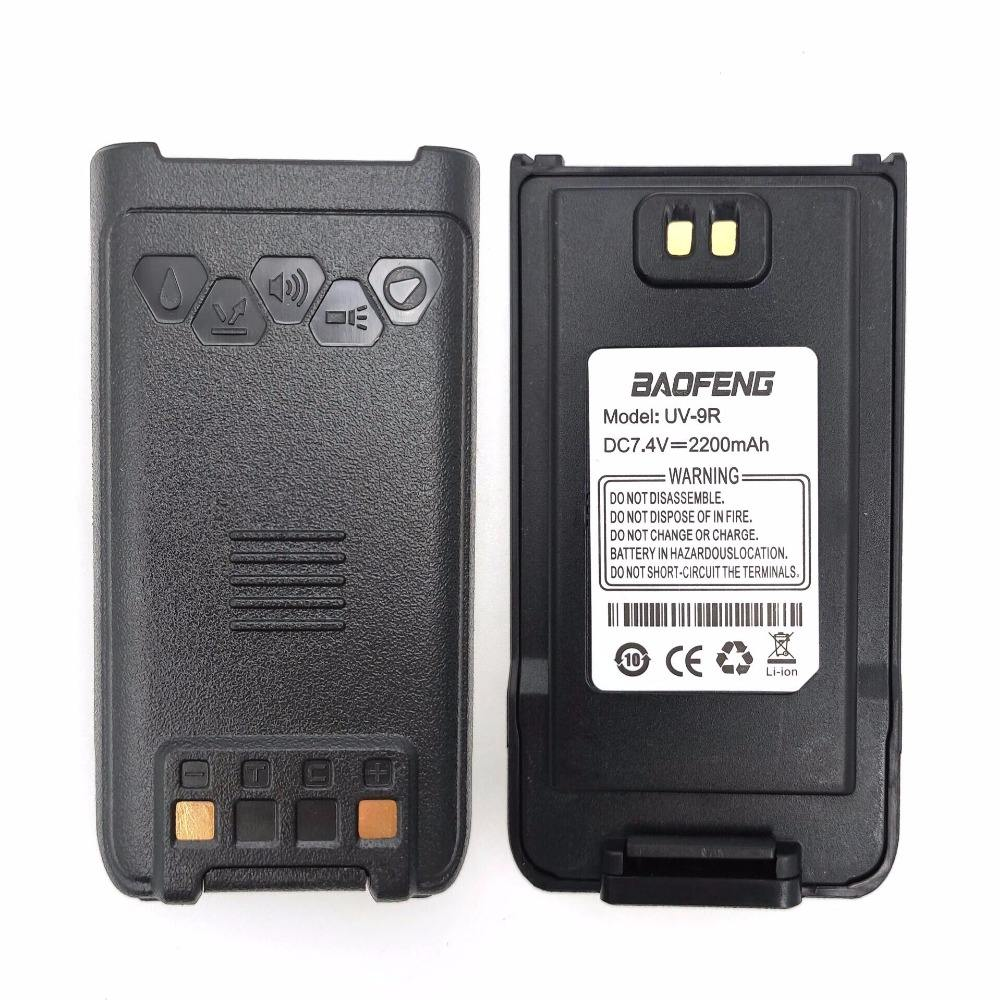 Replacement Baofeng dual band battery for UV-9R baofeng uv 9r waterproof radio battery for walkie talkie