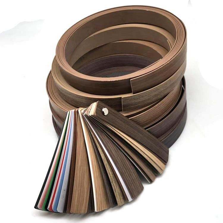 Monsoon Plastic Cabinet Edging PVC Edge Banding Tape Plastic Edge Protector Furniture Cover Trim Rubber Countertop Edging Strip