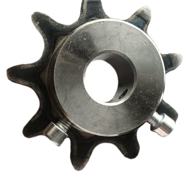 15.875mm Din/iso 10a 10b Roller Chain Sprocket Ansi50 Sprocket With Bearing