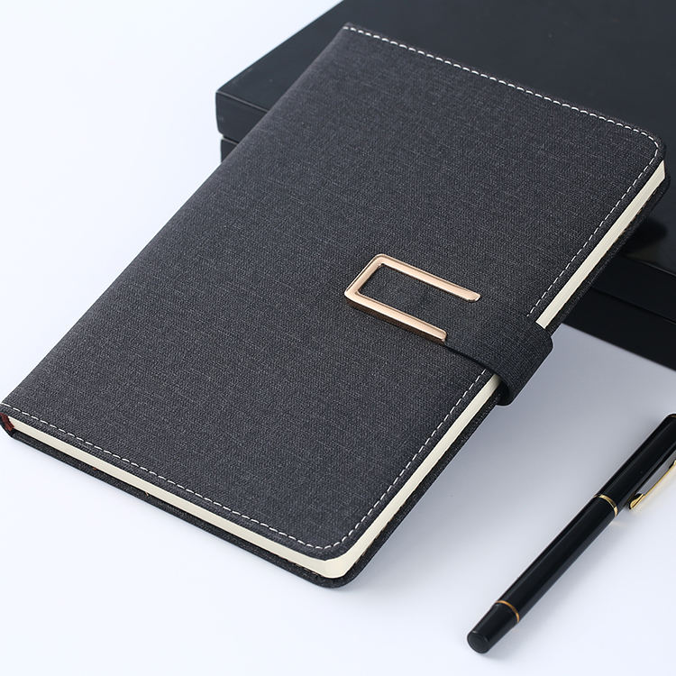 Leather Diary 2020 Daily Monthly Planner Hardcover Printed PU Custom Notebook