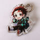 2020 Colorful China Heart Laser Cut Blank Glitter Maker Photo Print Printed Clean Anime Custom Ring Plastic Acrylic KeyChain