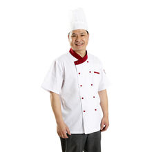 Chef clothes overalls short sleeve waterproof autumn and winter clothing hotel catering kitchen chef cook uniform