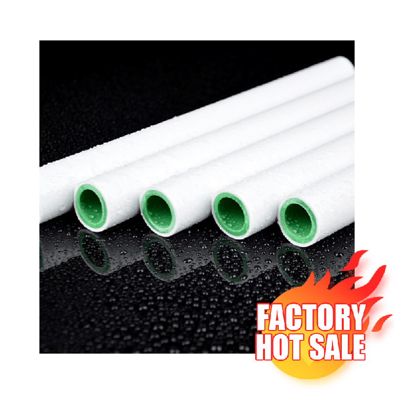 Factory Hot Sales Plumbing Polypropylene 20Mm-160Mm PPR Pipe Materials Plastic Pipes For High Quality Water Piping System